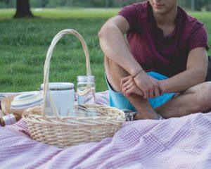 Nina werd tijdens haar dream date verrast met een picknick.