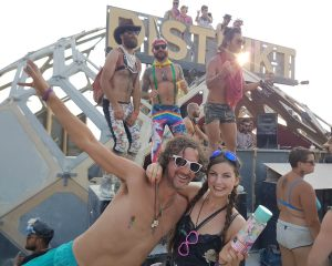 Steffy kon weer lachen en liefde voelen op Burning Man.
