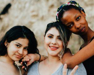 Vrouwen in een vrouwencirkel
